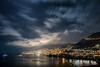 Monaco (Rafael Zenon Wagner) Tags: nikon d810 sigma art 35mm nacht night himmel sky stars sternelichter lights wasser water sea see mittelmeer spiegelung reflections küste coast