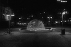 The Fountain (Tom Wasaka) Tags: fountain oslo nasjonal national tom wasak tomwasaka black white first 1 edition blackandwhitefirstedition