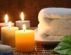 Towel and candles (libortupý) Tags: aroma aromatherapy black bath beauty cleanse decoration delicate feminine fragrant fire freshness health healthy healthspa healthcare incense light mental mat bamboo nature peaceful relax relaxation reflection refresh scent spa skincare studio stilllife still towel therapy tranquil treatment white wash wood