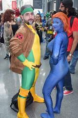 DSC_0198 (Randsom) Tags: newyorkcomiccon 2017 nyc convention october5 nycc comic book con costume newyorkcity october7 cosplay marvelcomics marvel superhero xmen hero mutant javits october6 rogue mystique crossdress spandex duo couple