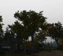 House (Brandon ProjectZ) Tags: watchdogs chicago windy rain overcast trees atmospheric