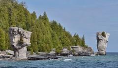 Flower Pot Island, Fathom Five National Marine Park, Bruce Anchor Cruise, Tobermory, ON (Snuffy) Tags: flowerpotisland fathomfivenationalmarinepark bruceanchorcruise tobermory ontario canada