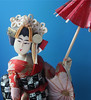 Geisha - Macro Mondays - Souvenir (timeinabox) Tags: macromondays doll geisha chinatown newyorkcity umbrella souvenir timeinabox