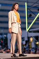 A55T3231 (Nick Kozub) Tags: festival mode design fashion montreal runway stage look woman vogue chic evening style canon summer downtown photography day three 2017 1d x ef 85 f12 ii l usm of sharks men