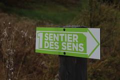 sentier des sens (bulbocode909) Tags: valais suisse panneaux nature montagnes vert automne vallondarby latzoumaz