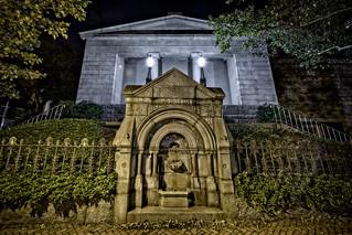 Providence Athenaeum at Night