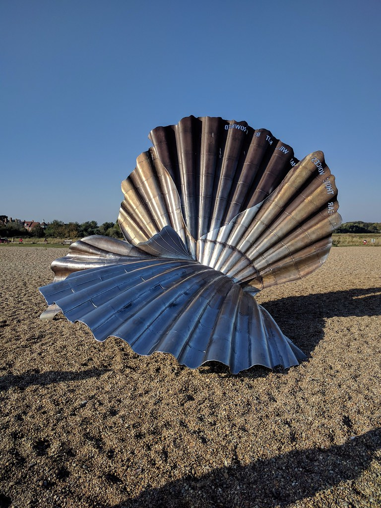 The Scallop by Maggie Hambling Aldeburgh