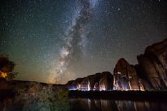 Camp view of Milky Way (matt.sellars) Tags: explore moab travel milky way stars milkyway canyon coloradoriver nightshots night