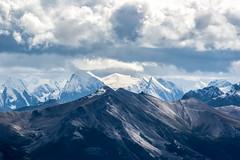 Close to the sky - Jasper (Carine Barclay) Tags: sommet ciel mountains canada couleur landscape paysage montagne neige jasper voyage evasion alberta