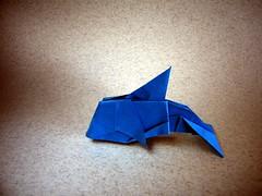Golfinho (Dolphin) - Jo Nakashima (Rui.Roda) Tags: origami papiroflexia papierfalten delfin dauphin golfinho dolphin jo nakashima