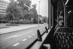 Bus 347 #II (Alexander Rentsch) Tags: canoneos6d germany deutschland berlin friedrichshain bus 347 transportation urban city people public street tristesse retro vintage monochrome bokeh depthoffield dof vscofilm canonef24mmf14liiusm