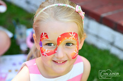 Party Face (Ian Junor) Tags: ifijay pretty girl facepainting party