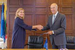 WIPO and Lithuania Sign Cooperation Agreement on Alternative Dispute Resolution (WIPO | OMPI) Tags: wipo ompi lithuania directorgeneral francisgurry women ip womenandip