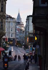 Pera (Koutai) Tags: beyoğlu pera istanbul street streetphotography urban urbanphotography europe turkey historical architecture architecturephotography galata tower galatatower istambul estambul nikon nikond3100 d3100 nikonglobal dslr dslrphotography modernarchitecture modernism