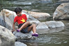 Wet feet (Roving I) Tags: girls children wetfeet pools hoabac hoavang water rivers rocks boulders jungle lifestyle fun danang vietnam dripping stars