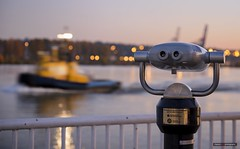 Hi-Spy Viewing Machine (Clayton Perry Photoworks) Tags: vancouver bc canada fall autumn explorebc explorecanada newwestminster hispyviewingmachines boat bokeh fraserriver