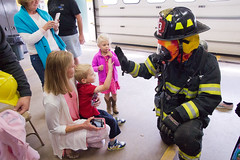 2017.09.30 Caleb's 4th Birthday Party Fireman High Five (PSUGabe) Tags: caleb