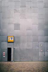 Door to parking // Autumn Amsterdam (Merlijn Hoek) Tags: amsterdam merlijnhoek fotografie fotografiemerlijnhoek streetphotography street zuidoost amsterdamzuidoost