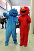 Cookie Monster and Elmo (NekoJoe) Tags: mcmldn17 comicconoctober2017 cookiemonster cosplay cosplayers elmo england excelcentre gb gbr geo:lat=5150823496 geo:lon=002809078 geotagged london londonexpomay2017 mcm mcmlondon mcmlondoncomiccon mcmlondoncomicconoctober2017 mcmlondonexpo mcmlondonexpooctober2017 sesamestreet uk unitedkingdom
