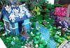 MOC Elven Village (1982redhead) Tags: lego elves elven village moc building bricks landscape architecture farran emily jones afol aira azari sira naida