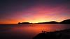 Capo Caccia Sardinia viewed from Porto Conte (#Dave Roberts#) Tags: sardinia sardegna capo caccia el faro bay sunset landscape moonlight reflection time explosure long october 2017 alghero