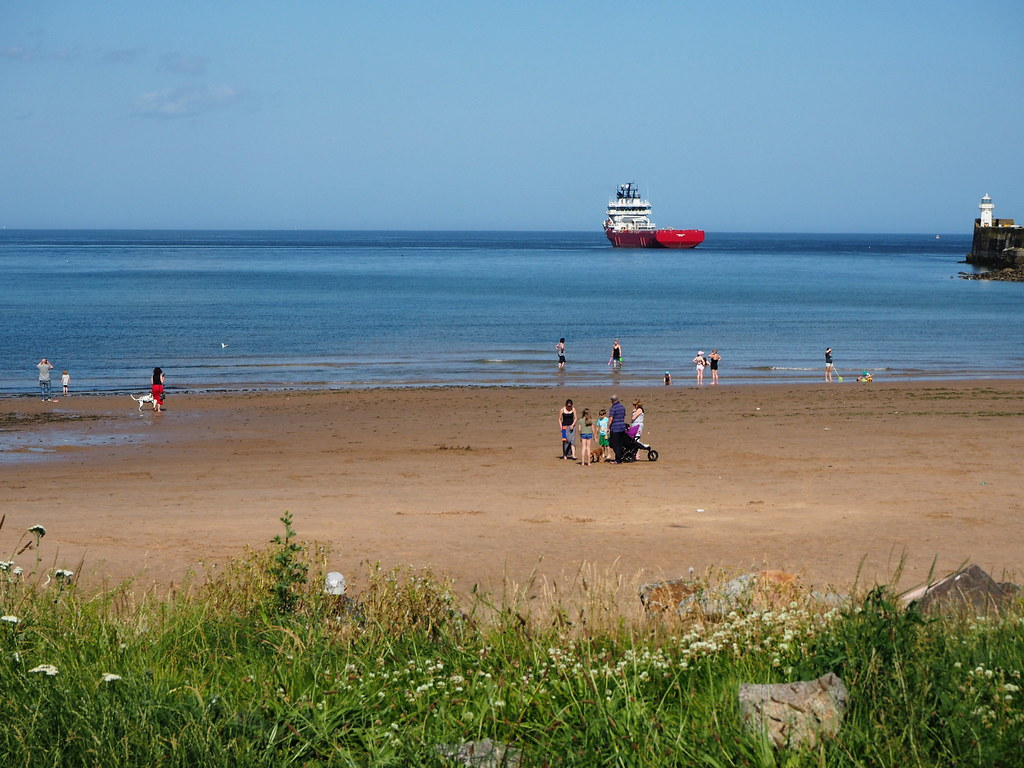 North Sea at Footdee