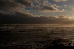 Hurricane Ophelia (aaronflynndolan) Tags: hurricane ophelia dublin ireland sea seascape storm storms sky sun sunset clouds cloudscape