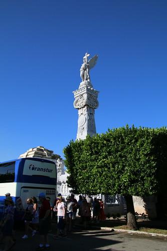 Mausoleo de los Bomberos at Colón Cemetery (Havana, Cuba) - Pictures from Empress of the Seas Cruise - October 13, 2017