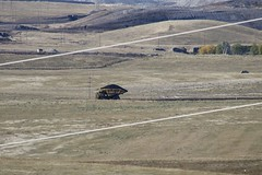 Mine Truck moving at Antelope Mine (kschmidt626) Tags: coal train wyoming bnsf union pacific deer powder river bunny