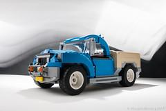 10252 Pickup alternate model (KEEP_ON_BRICKING) Tags: lego creator expert model alternate remix remake custom design pickup pickuptruck keeponbricking 10252 vw set