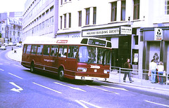 Slide 108-87 (Steve Guess) Tags: hastings district east sussex england gb uk bus npd170l lcbs london country arrow leyland national