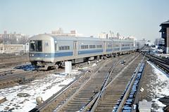 Found Photo - US NY NYC Jamaica Station LIRR M-1 9209 (David Pirmann) Tags: train railroad transit lirr longislandrailroad ny newyork foundphoto m1 metropolitancars