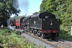 45212 (mike_j's photos) Tags: nymr steam gala september northyorkshiremoors railway 45212 black5