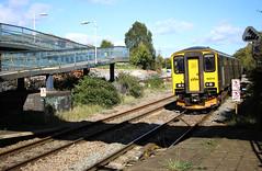150216 British Railways Class 150 Sprinter, Great Western Railway, Filton Abbey Wood, Gloucestershire (Kev Slade Too) Tags: 150216 class150 dmu sprinter britishrailways greatwesternrailway 2c18 filtonabbeywood bristol gloucestershire