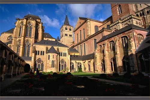 """""""Liebfrauenkirche und Dom"""" - Trier (Rheinland-Pfalz)"""