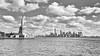 Boat Trip (Gareth R O Dawes) Tags: newyork newjersey unitedstates us ladyliberty bw wtc nyc libertyisland