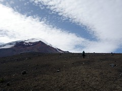Clouds over Chimborazo