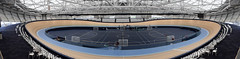 Anna Meares Velodrome, Brisbane (stephenk1977) Tags: australia queensland qld brisbane nikon d3300 velodrome chandler sleeman centre annameares cycling timber track indoor panorama