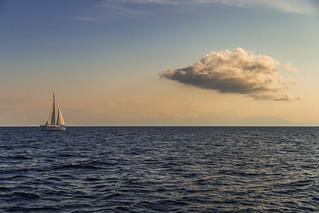 Somewhere on the sea