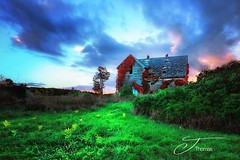 Take Me In (The Shutter Affair) Tags: abandoned house fall leaves color delapidated decay forgotten old farmhouse sunset path landscape michigan michiganlandscape haunting desolate adventure explore