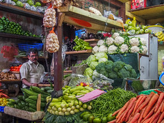 Mumbai 2015 (hunbille) Tags: india mumbai bombay birgittemumbai2lr crawford market crawfordmarket victorian historic bazaar mahatma jyotiba phule mandi mahatmajyotibaphulemandi fruit poultry vegetables