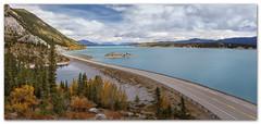 "Windy Point-Abraham Lake, Alberta (Joalhi ""Around the World"") Tags: abraham lake windypoint autumn alberta canada"