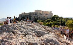 Acropolis from Areopagus Hill (ika_pol) Tags: athens acropolis greece ancientgreece ancientruins ancient antiquity geotagged