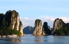 Floating Mountains (JeffGuth) Tags: water floatingmountain island boat halongbay ha long bay vietnam southeastasia seasia quangninh quang ninh