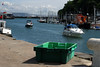 Dorset C 2010 338 (steamnut777) Tags: weymouth dorset harbour greenbox lifeboat hills trees