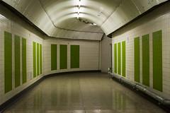 1970's Tiling (Alexander Jones - Documentary Photography) Tags: documentary underground photography hidden london tour transport museum tube charing cross station lost tunnels access all areas jubilee fleet line nikon d5200 strand trafalgar square