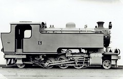 The Simmer & Jack Gold Mining Company (South Africa) - S&J 2-6-2T steam locomotive Nr. 6 (North British Locomotive Works, Glasgow 26242 / 1948) (HISTORICAL RAILWAY IMAGES) Tags: steam locomotive nbl glasgow northbritishlocomotive 1948 262t