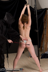 356_5699 (FirstTimeTied.com) Tags: bondage firsttimetiedcom bella amateur handcuffed handcuffs topless rope ballgaged ballgag hogtied hogtie tied up