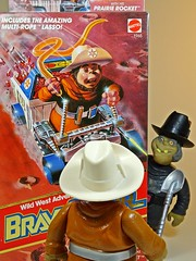 Mattel – Fantastic World of Bravestarr Toys – Reignited Passion – Vintage & Fragile – Deputy Fuzz – You! Scum!! (My Toy Museum) Tags: mattel bravestarr action figure deputy fuzz lasso mib