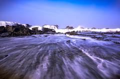 D5100 In Memory (pramuditalina) Tags: sawarna karangtaraje beach dynamicwaves hightide nikond5100 linalightroom indonesiaocean